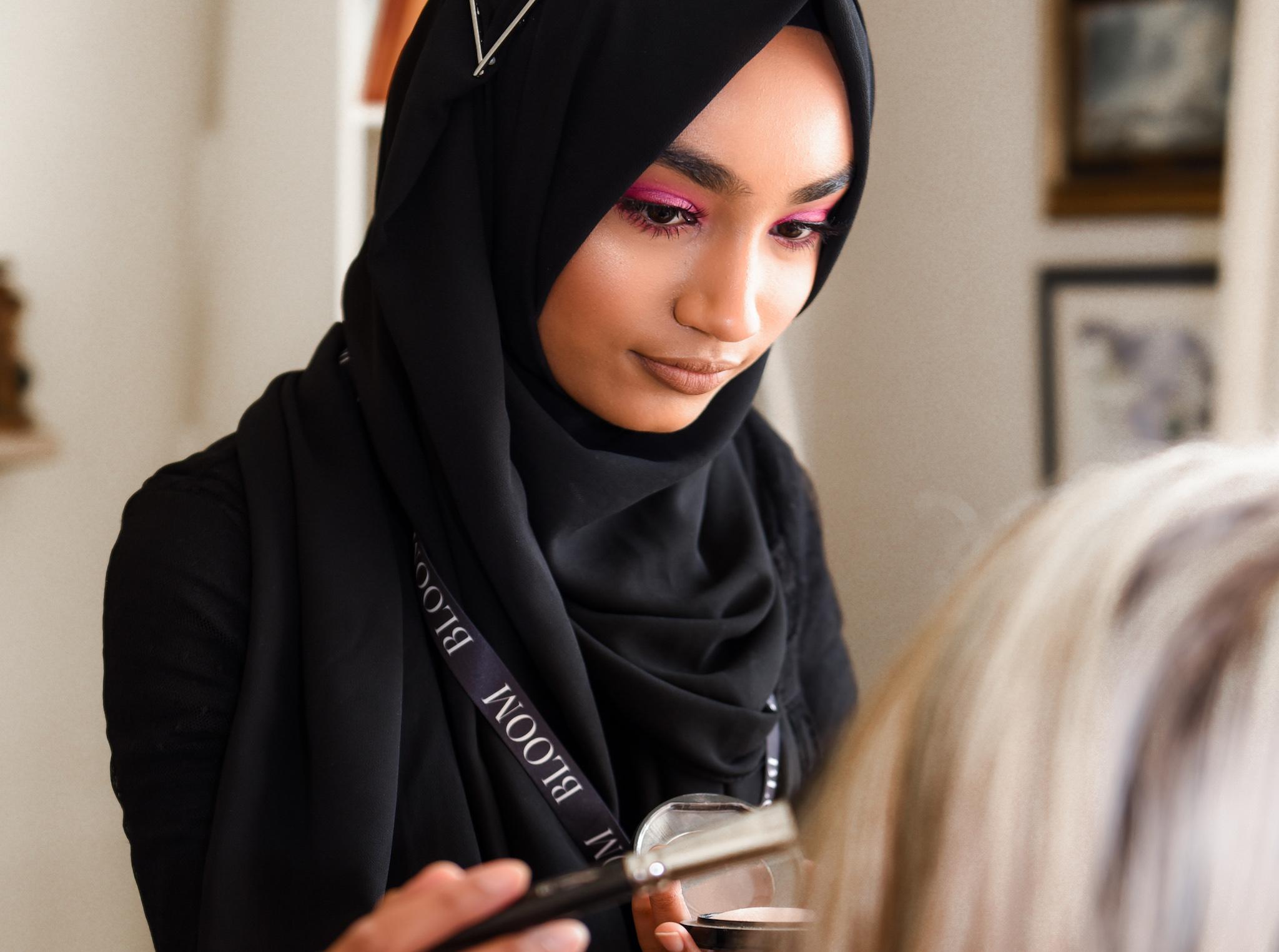 Meet our Make-Up Artist Rifah