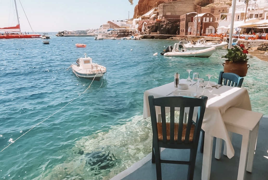 A Santorini Honeymoon